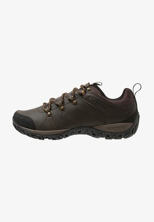 PEAKFREAK VENTURE WATERPROOF - Hiking shoes - dark brown