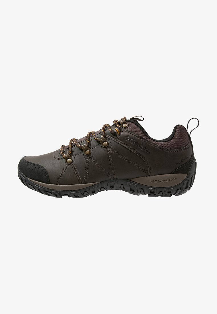 Columbia - PEAKFREAK VENTURE WP - Hiking shoes - dark brown