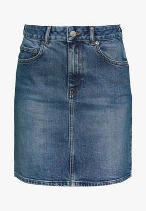 SLFKENNA SKIRT - Pennkjol - medium blue denim