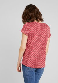 Esprit - TEE - Print T-shirt - dark red - 2