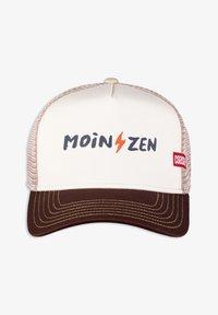 Coastal - MOINZEN - Cap - white/brown/khaki - 0