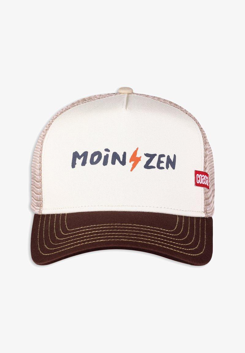 Coastal - MOINZEN - Cap - white/brown/khaki