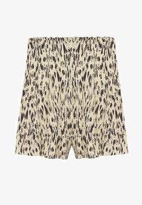 Mango - Shorts - open beige - 5