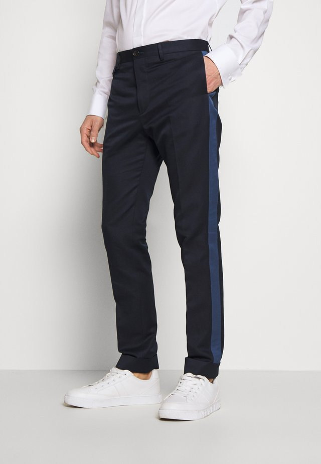 MENS SLIM FIT - Pantaloni eleganti - navy