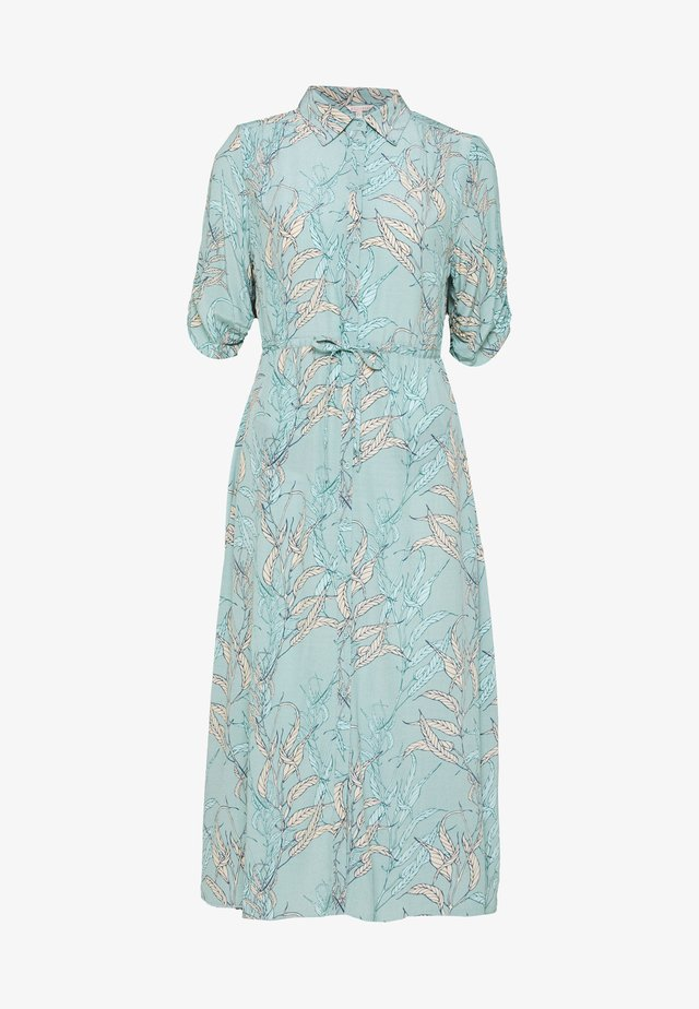 DRESS LONG HARVEST PRINT - Paitamekko - turquoise
