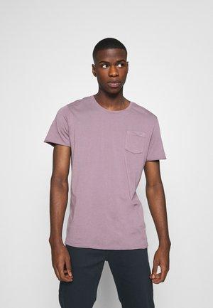 JORZACK TEE CREW NECK - Basic T-shirt - moonscape
