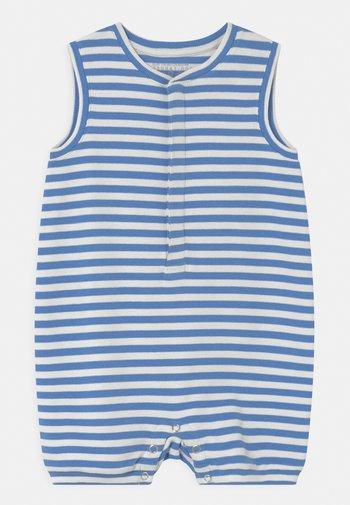 UNISEX - Jumpsuit - white/blue