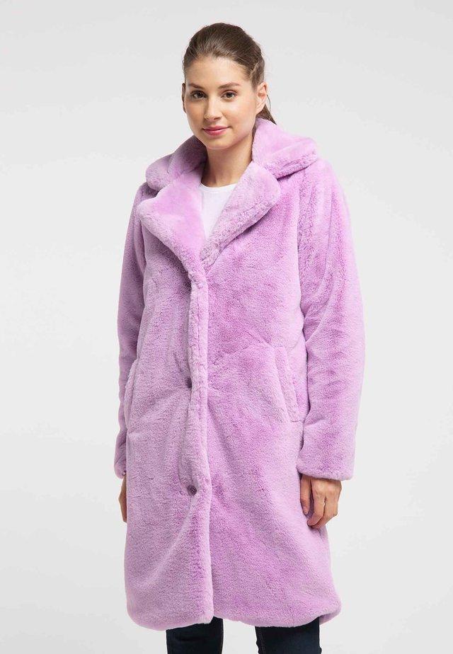 Cappotto invernale - purple