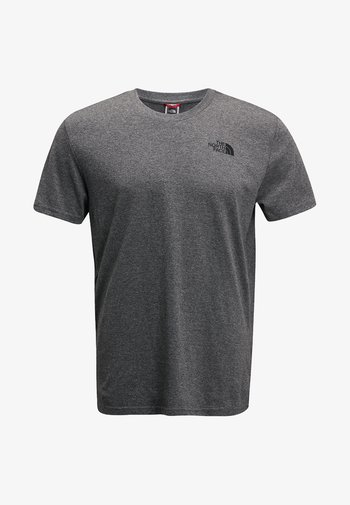 SIMPLE DOME TEE - Basic T-shirt - grey