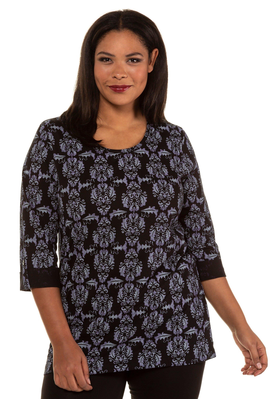 Ulla Popken T-shirt à manches longues - black - Tops & T-shirts Femme BxSrx