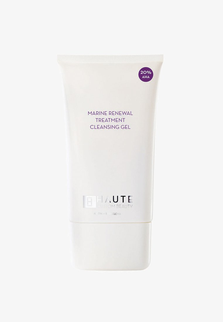 Haute Custom Beauty - MARINE RENEWAL TREATMENT CLEANSING GEL 125ML (20% AHA) - Cleanser - -
