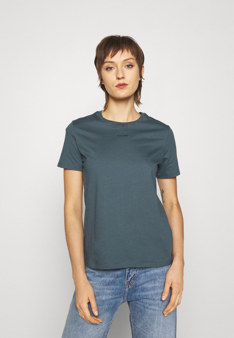 Holzweiler - SUZANA TEE - Basic T-shirt - blue