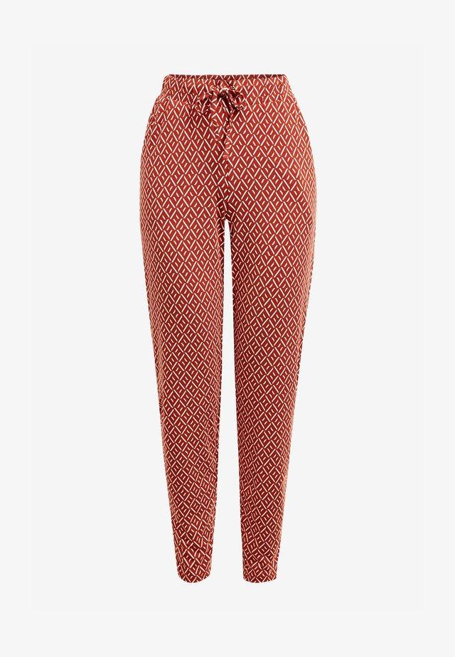 Teplákové kalhoty - orange