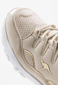 KangaROOS - KW-BIRDY - Trainers - beige/gold - 2