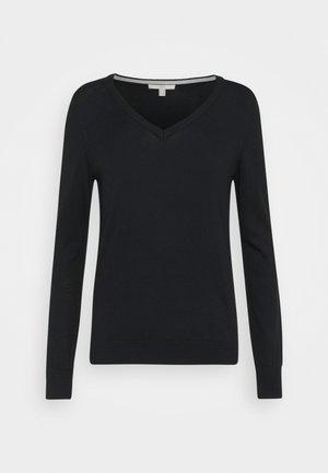 SWEATER  - Stickad tröja - black
