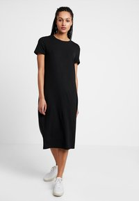 Vero Moda - VMGAVA DRESS - Jerseykjole - black - 0