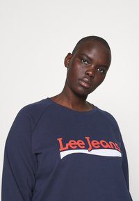 Lee Plus - CREW - Sweatshirt - dark navy - 4