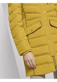 TOM TAILOR - SIGNATURE PUFFER COAT - Winter coat - california sand yellow - 4