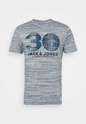 GRAPHIC TEE CREW - T-shirt print - cool grey melange
