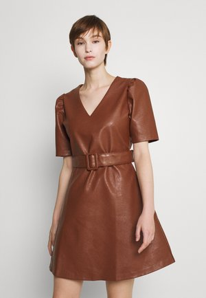 LADIES DRESS - Day dress - camel