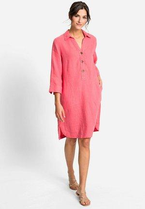 Shirt dress - koralle
