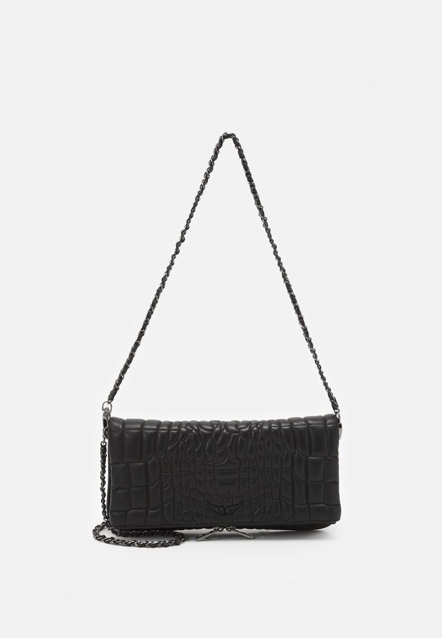 ROCK CROCO - Handbag - noir