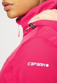Icepeak - BOISE - Soft shell jacket - coral red - 4