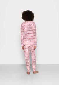 Cotton On Body - HENLEY LONG JOHN - Pyjama set - red - 2