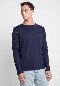 GANT - THE ORIGINAL - T-shirt à manches longues - evening blue - 0