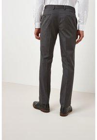Next - SUIT TROUSERS - Suit trousers - mottled dark grey - 1