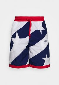 Nike Performance - THROWBACK - Sports shorts - blue void/white/university red - 3