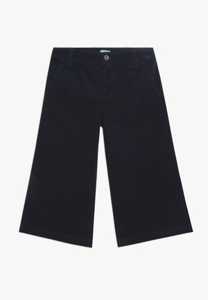 TROUSERS - Stoffhose - dark blue