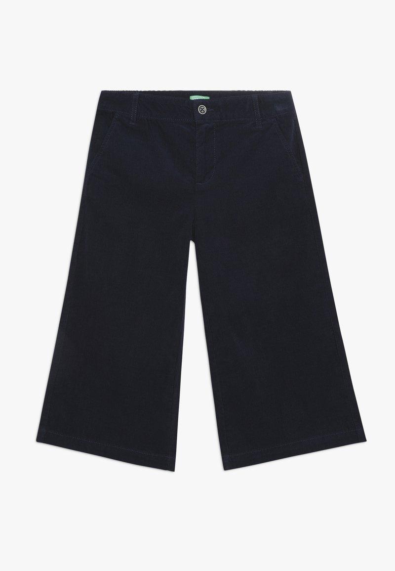 Benetton - TROUSERS - Trousers - dark blue