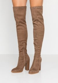 Glamorous Wide Fit - High Heel Stiefel - taupe - 0