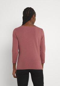 ONLY - ONLFIFI BOATNECK BOX  - Long sleeved top - rose brown - 2