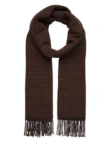 SCARF WOVEN STRUCTURED HOUNDSTOOT
