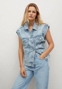 Mango - Straight leg jeans - lichtblauw - 3