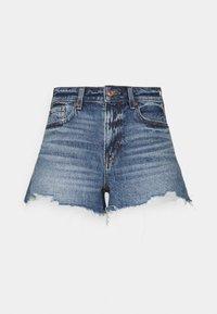 American Eagle - FESTIVAL  - Denim shorts - medium wash - 0