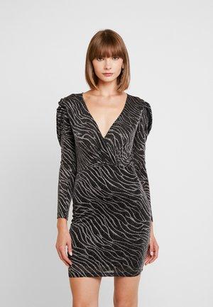 ATALJA - Pouzdrové šaty - dark silver