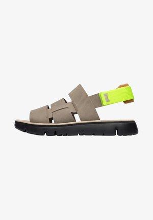 Sandalias de senderismo - light yellow
