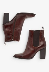 Bianco - High heeled ankle boots - darkbrown - 4