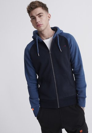 ORANGE LABEL - Zip-up hoodie - rich blue