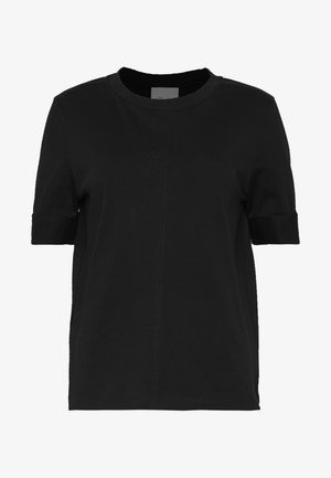 SNAP CUFF TSHIRT - T-shirt basic - black