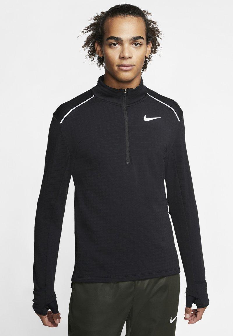 """Nike Performance - NIKE PERFORMANCE HERREN LAUFSHIRT """"THERMA SPHERE 3.0"""" LANGARM - Long sleeved top - black"""