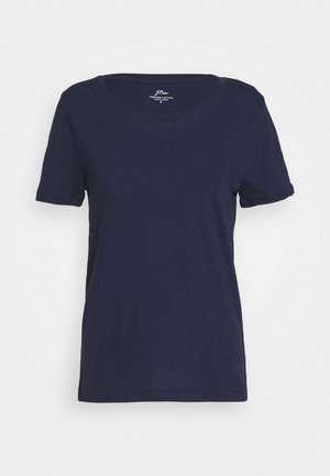 VINTAGE CREWNECK TEE - T-Shirt basic - navy