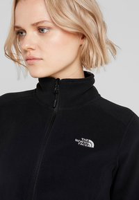 The North Face - WOMENS GLACIER FULL ZIP - Fleecejakker - black - 3