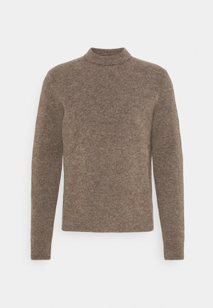 NECK - Pullover - dark taupe