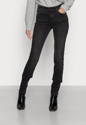 TROUSER REGULAR LENGTH HIGH WAIST - Jeans Skinny Fit - authentic dark grey