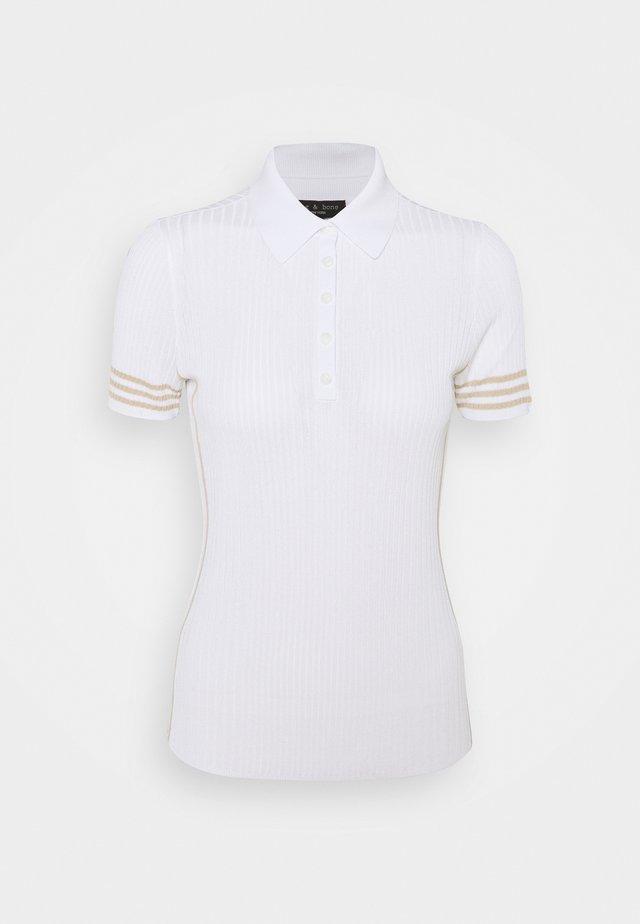 PEYTON BLACK LABEL - Polo shirt - bright white