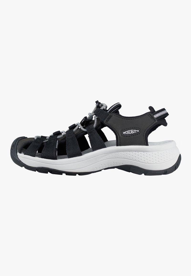 Keen - ASTORIA WEST  - Sandales de randonnée - black/grey
